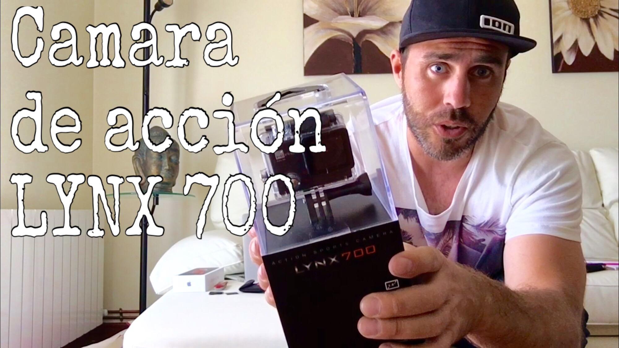 Unboxing-cámara-acción-LYNX-700